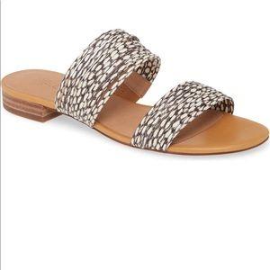 Madewell leather slide sandal